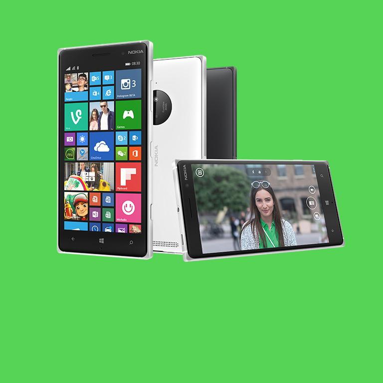 Vivez. Synchronisez. Partagez. Faites l'expérience du Lumia 830.