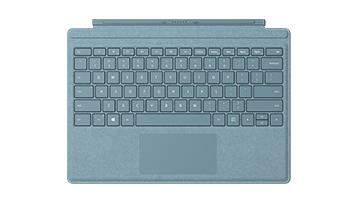 Surface Pro Signature Type Cover Aqua Blue Blue
