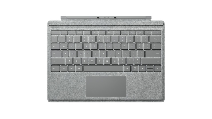 Clavier Type Cover Signature pour Surface Pro 4.