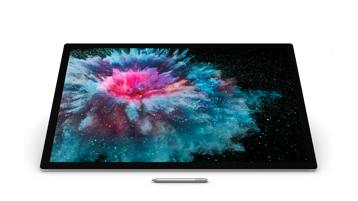 Vue de face de Surface Studio 2 ave stylet Surface
