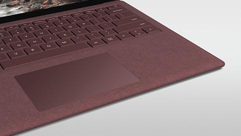 Clavier Surface avec tissu Alcantara.