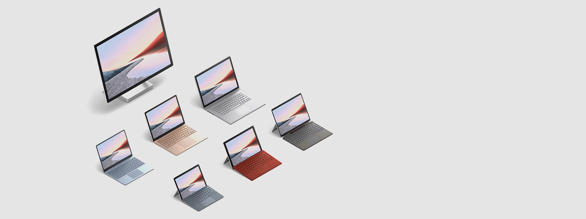 Nouvelle famille d'appareils Surface