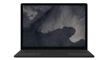Vue de face de l'ordinateur Surface Laptop 2
