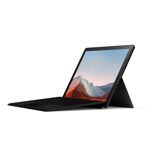 rendu de la Surface pro 7+ avec le clavier Type Cover