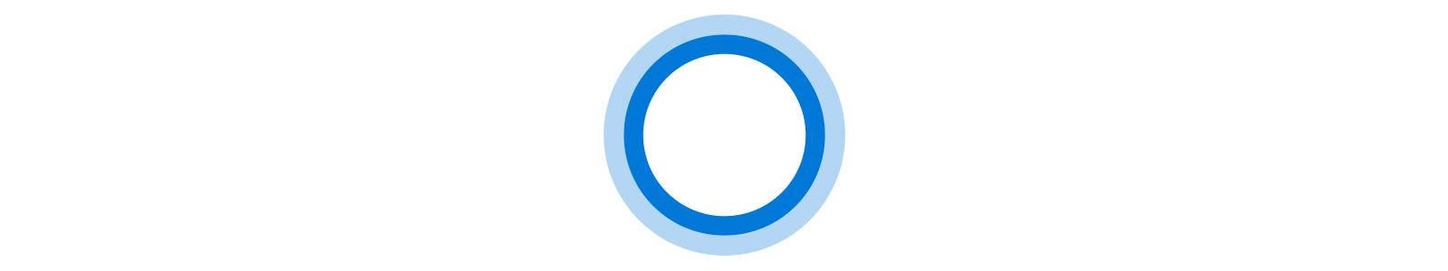 Icône animée Cortana
