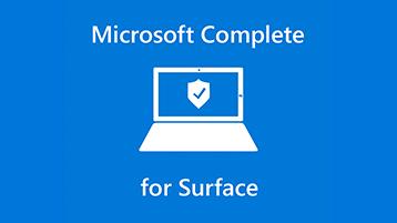 Plan de service étendu Microsoft Complete pour Surface
