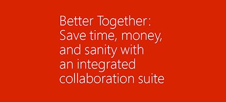 Image de couverture de l'ebook «Better Together»