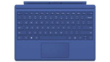 Type Cover pour Surface Pro QWERTZ (bleu)