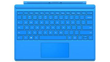 Type Cover pour Surface Pro QWERTZ (bleu vif)
