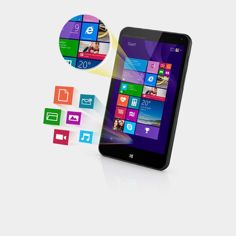 La tablette HP Stream7 ne coûte que CHF 139.00. Acheter maintenant.