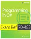 Exam Ref 70-483: Programming in C# cover