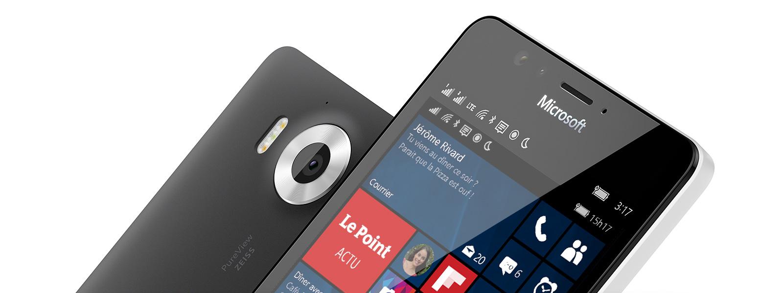 Téléphones mobiles Windows10