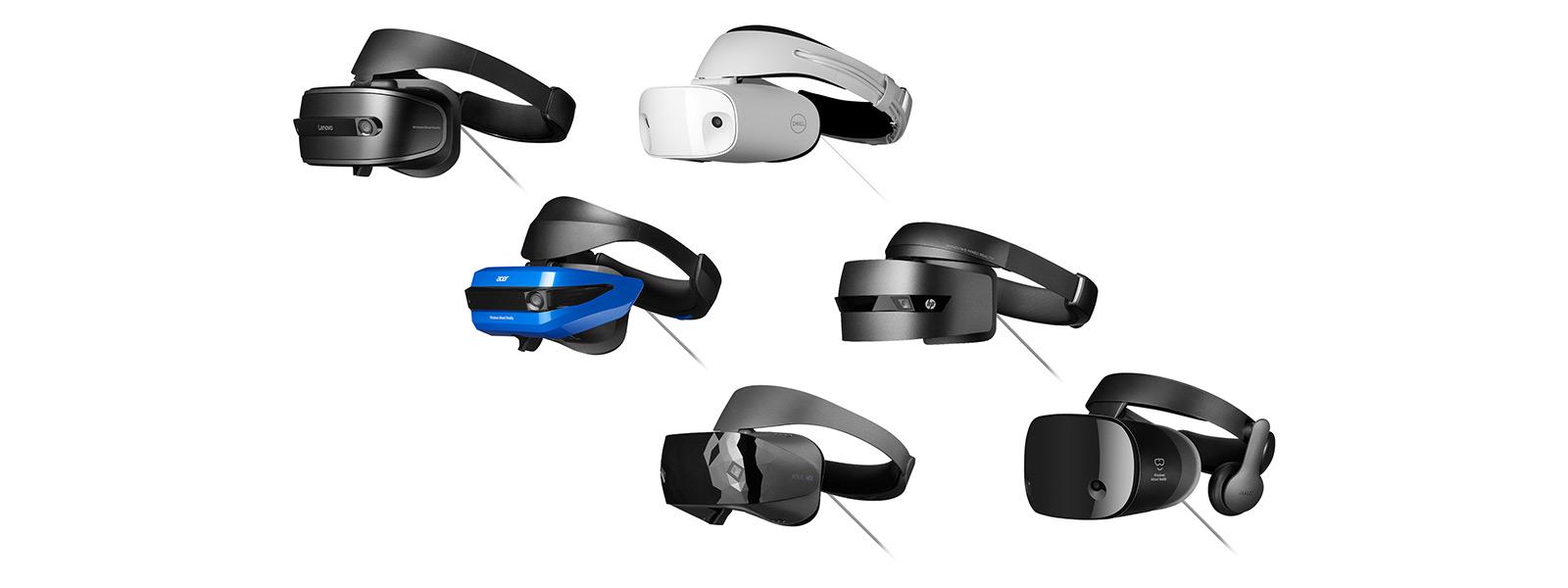 Gamme de casques de réalité mixte
