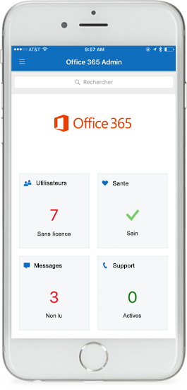 Application Office 365 Admin