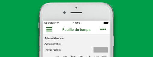 Fichier de projet ouvert dans Project Professionnel, Office365 Project Time Reporter