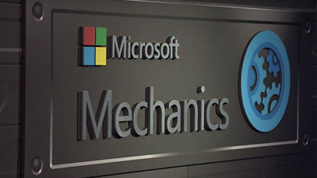 Logo Microsoft Mechanics