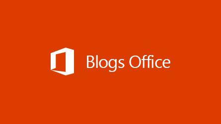 Logo Blogs Office, lisez un article sur l'archivage de données tierces dans Office365