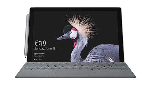 Ordinateur portable Surface Pro.