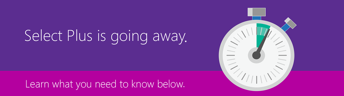 Select Plus is going away. Learn what you need to know below.