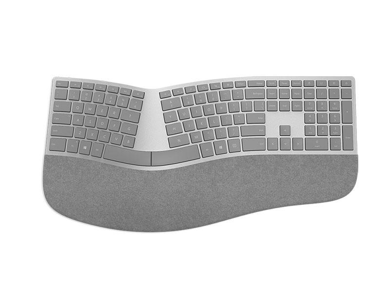 Clavier Surface ergonomique