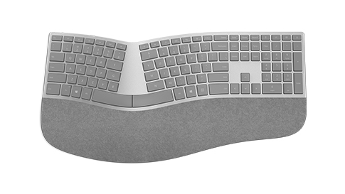Clavier Surface ergonomique