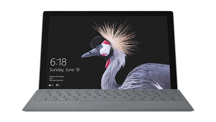 Image de l'ordinateur portable Surface Pro.