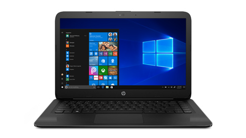 Ordinateur portable exécutant Windows 10 en mode S