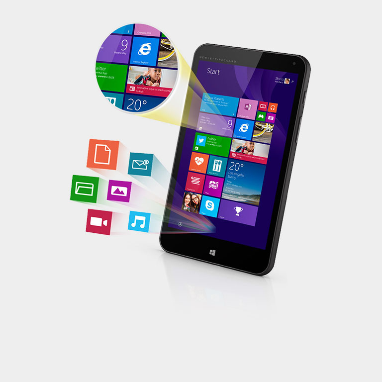 La tablette HP Stream7 ne coûte que 99,00 €. Acheter maintenant.