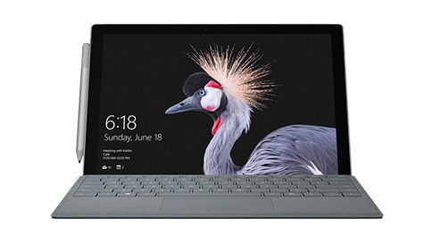 Surface Pro 4 avec Windows 10 Professionnel