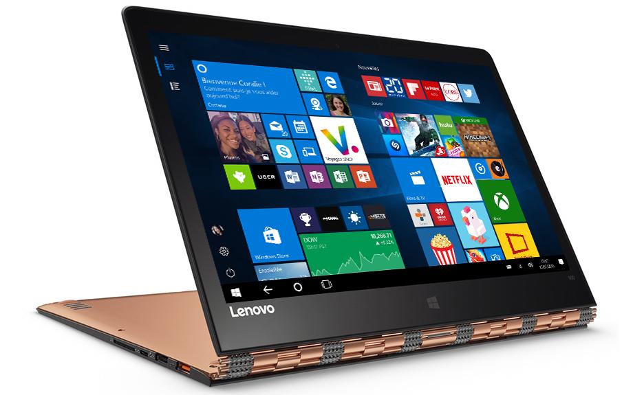 LenovoYoga900 avecécran de démarrage Windows10