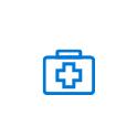 Icône représentant le secteur de la santé
