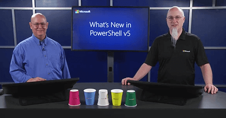 What's New in PowerShell v5