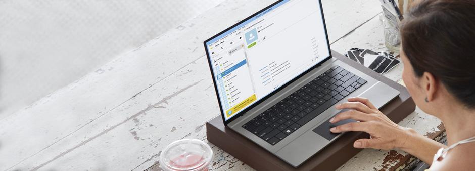 Connectivité Lync-Skype