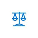 Icône représentant le secteur juridique