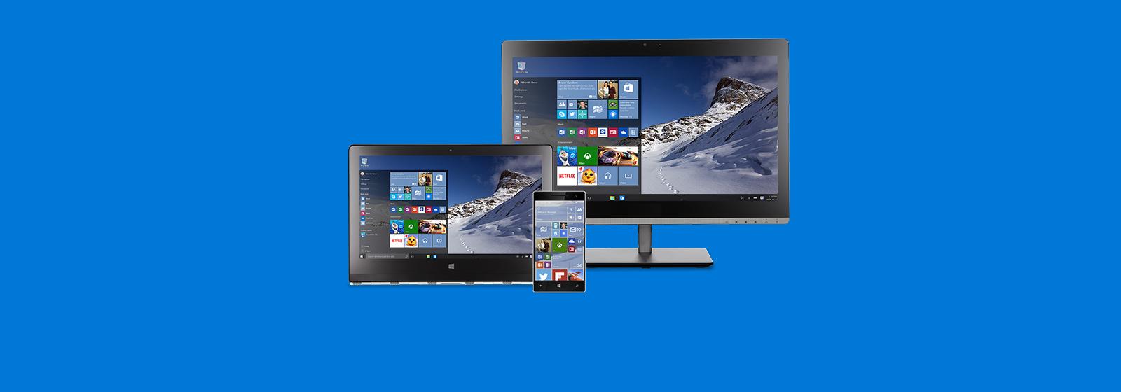 Windows10 sera bientôt disponible. Plus d'informations.