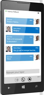 Lync2013 pour Windows Phone