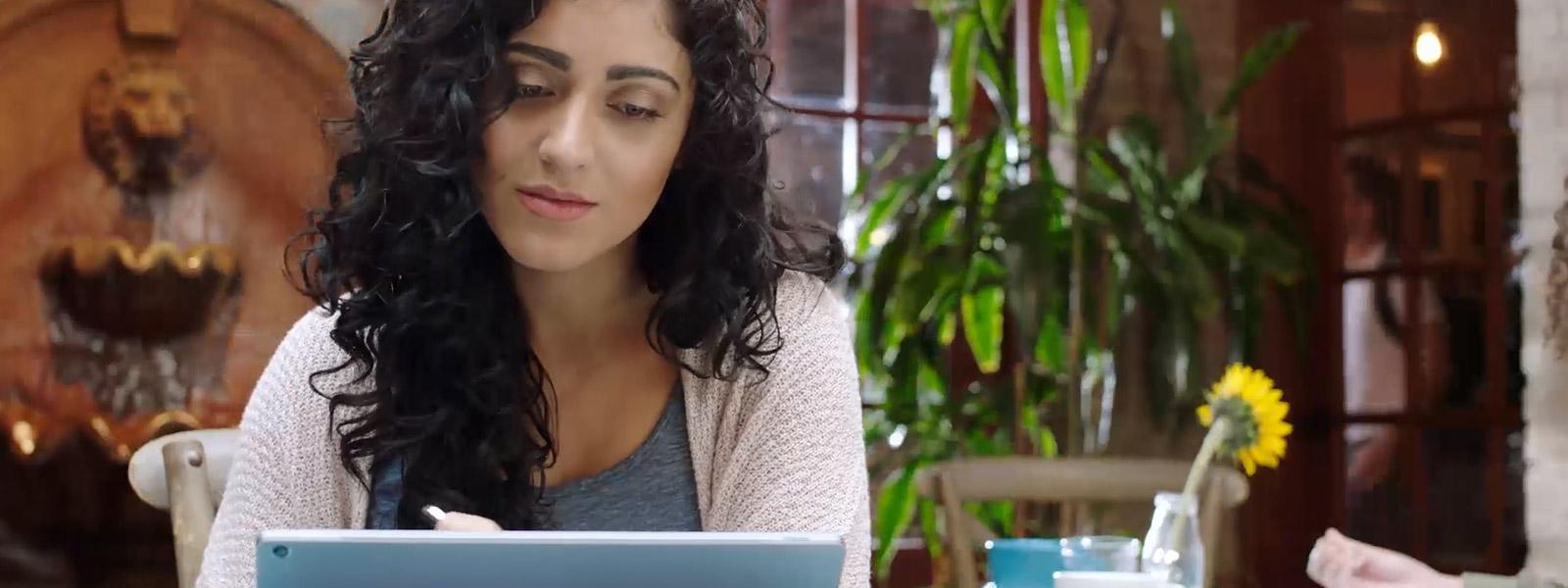 סימון בדיו ב-Windows Ink ב-Windows 10
