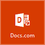 Ikona servisa Docs.com