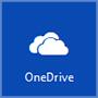 Ikona servisa OneDrive