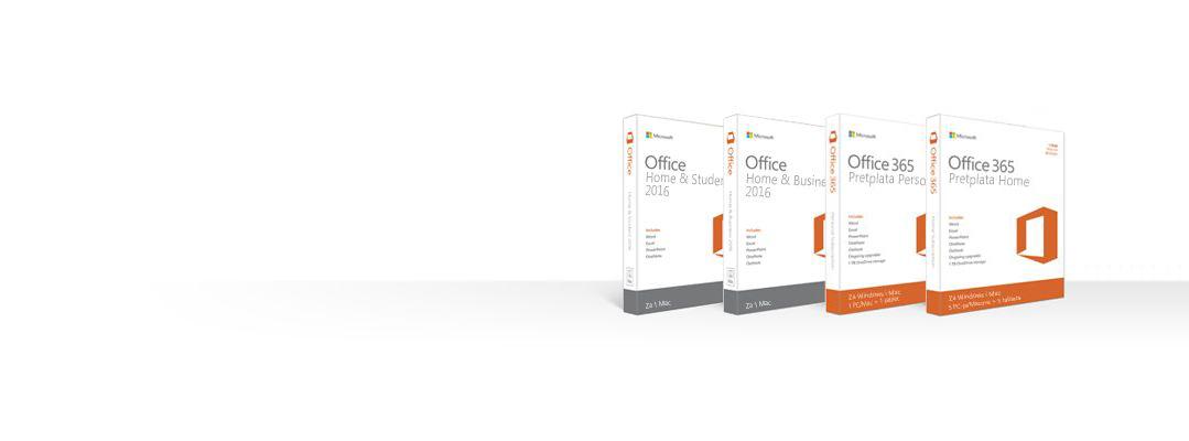 Upravljanje proizvodima sustava Office, njihovo preuzimanje, sigurnosno kopiranje ili vraćanje