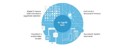 A cégen belüli átalakulás négyrészes stratégiáját bemutató diagram a TEI-tanulmányból