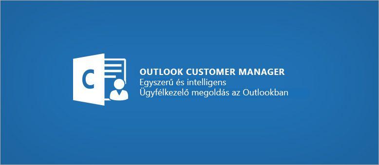 Az Outlook Customer Manager emblémája