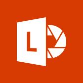 A Microsoft Office Lens emblémája; információk az Office Lens mobilappról a lapon belül