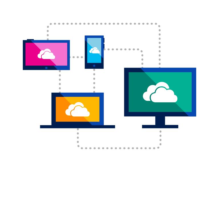 Regisztráljon a OneDrive szolgáltatásra, és szerezzen 15 GB online tárterületet ingyen.