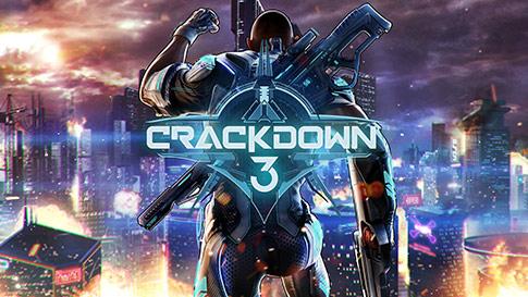 A Crackdown 3 játék képernyője