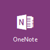 Logo OneNote, buka Microsoft OneNote Online