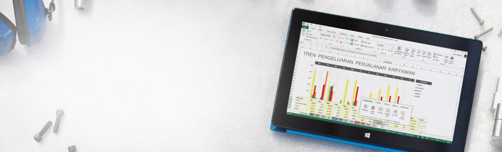 Office 365—alat bisnis yang bisa diandalkan. Kapan saja. Di mana saja.
