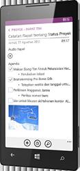 OneNote untuk Windows Phone