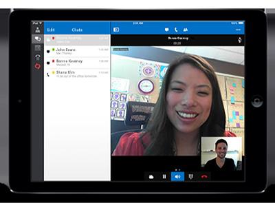Lync 2013 untuk iPad