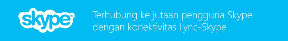Konektivitas Lync-Skype